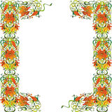 зацветите рамка Стоковое Фото