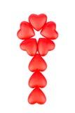 зацветите сердца Стоковая Фотография RF