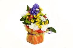 Зацветите состав на праздник, букет букета весны fl Стоковое Изображение RF