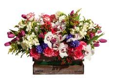 Зацветите состав на праздник, букет букета весны fl Стоковое Изображение