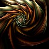 зацветите спираль фрактали Стоковая Фотография RF