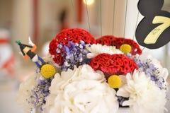 Зацветите украшение свадьба, вечеринка по случаю дня рождения Стоковые Фотографии RF
