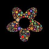Зацветите форма Стоковые Фото