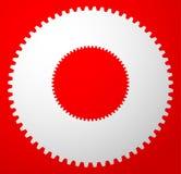 Зацепите значок, символ шестерни для обслуживания, ремонт или развитие co иллюстрация вектора