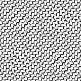 Зацепите, решетка при деформированный пересекать, передернутые линии безшовно иллюстрация вектора