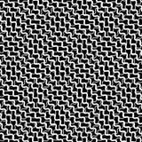 Зацепите, решетка при деформированный пересекать, передернутые линии безшовно иллюстрация штока