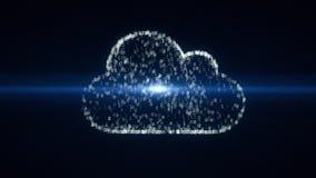 Зачатие облака вычисляя, видео 4k