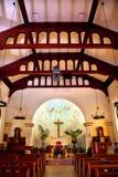 зачатие diego безукоризненный старый san церков Стоковые Изображения RF
