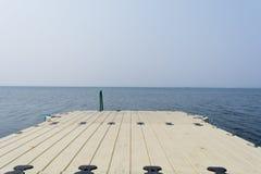 Зачаливание пристани стоковая фотография rf