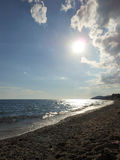 зашкурите море Стоковое Изображение RF