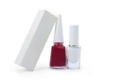 Зашкурить блок для ногтя и маникюра Стоковые Изображения RF