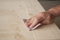 Зашкурить руки Стоковое Изображение RF