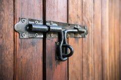 Защелка двери стоковое фото