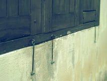 Защелка окна Стоковое Изображение