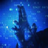 Защита секретности пароля Стоковые Фото