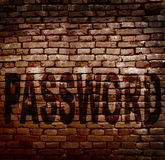 Защита секретности пароля Стоковое Изображение