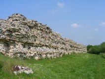 защитительная римская стена silchester Стоковое Изображение RF