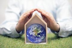 Защитите землю, наш дом стоковое изображение