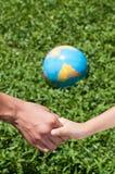 Защитите землю Стоковое Изображение RF