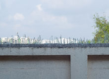 Защитительная стена Стоковая Фотография RF