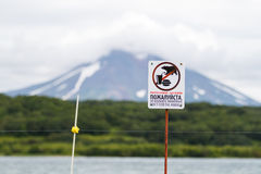 Защитная загородка под высоким напряжением против медведей Стоковые Фото
