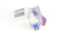 Защитная маска изолированная на белой предпосылке Стоковое Фото