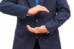 Защищая руки стоковые изображения rf