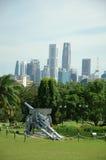 защищая singapore Стоковые Фотографии RF