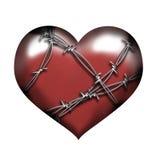 защищенное сердце Стоковое Изображение