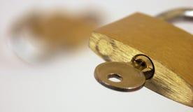 защищенное соединение обеспеченным Стоковое Изображение
