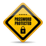 защищенный пароль Стоковые Фотографии RF
