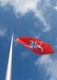 Заявите (исторический) флаг Литвы Стоковые Фотографии RF