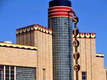 Заявите театр, Clovis, Неш-Мексико стоковые изображения