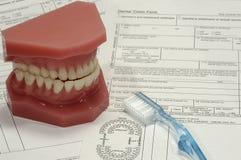 заявка зубоврачебная стоковые фото