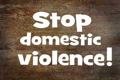 Заявка для того чтобы остановить насилие в семье Схематическое изображение с scrapbook стоковое фото rf