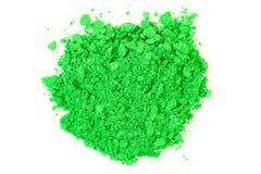 Задавленные зеленые тени для век Стоковые Фотографии RF