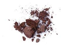 Задавленные коричневые тени для век Стоковые Фото
