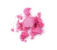Задавленные розовые тени для век Стоковые Изображения