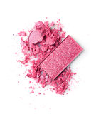 Задавленные розовые тени для век Стоковое фото RF