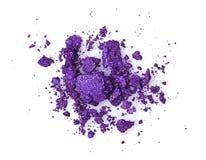 Задавленные фиолетовые тени для век Стоковые Изображения RF