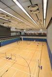 Зала бадминтона Гонконга в спортивном центре Hau вида Стоковое Изображение