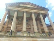 зала Венгрия города здания columned Стоковое Изображение RF