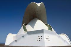 Зала оперы Auditorio-de-Тенерифе, Испании Стоковые Изображения