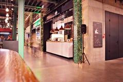 Зала рынка 'Koszyki' Стоковые Фото