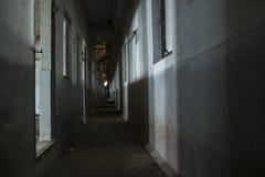Зала темноты призрака пакостная Стоковая Фотография