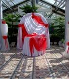 Зала торжества свадьбы в саде Стоковая Фотография RF