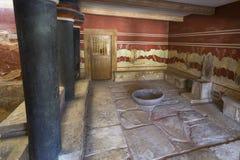 Зала трона Стоковые Изображения RF