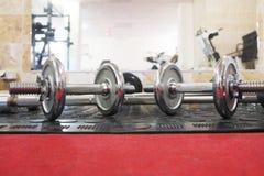 Зала фитнеса Стоковые Фото