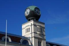 зала часов города Австралии обнаружила местонахождение городок башни perth западный Стоковые Изображения