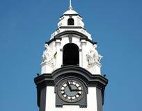 зала часов города Австралии обнаружила местонахождение городок башни perth западный Стоковое фото RF